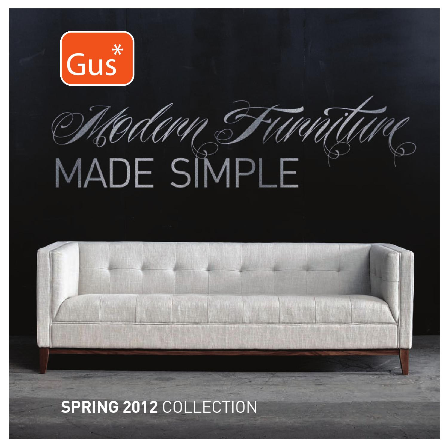 Groovy Gus Modern Spring 2012 Furniture Collection By Gus Pabps2019 Chair Design Images Pabps2019Com