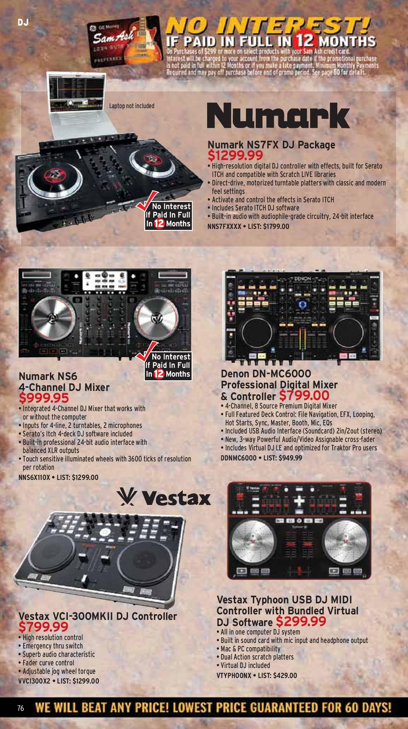 October 2011 Sam Ash Gear Guide by Sam Ash Music Corp  - issuu