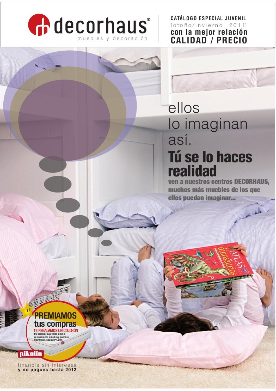 Dormitorios Juveniles Mobiliario Y Decoracion By Decorhaus  # Muebles Lozano Horario