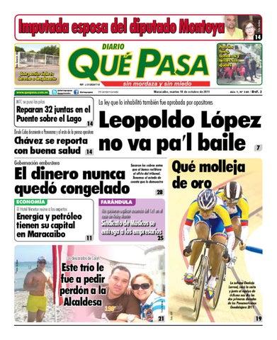 Edicion Issuu Pasa 18102011 Diario 340 By Que vn80mwyON