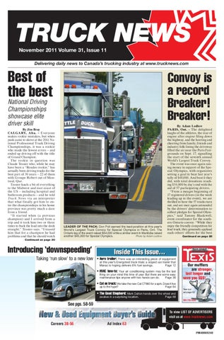 Truck News November 2011 by Annex Business Media - issuu a8758a7a4