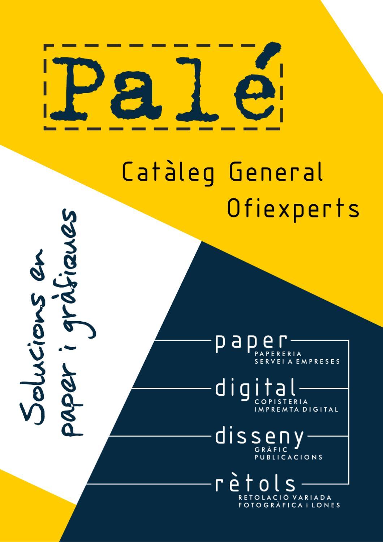 Palé Catàleg General Ofiexperts By Palé Paper S L Issuu