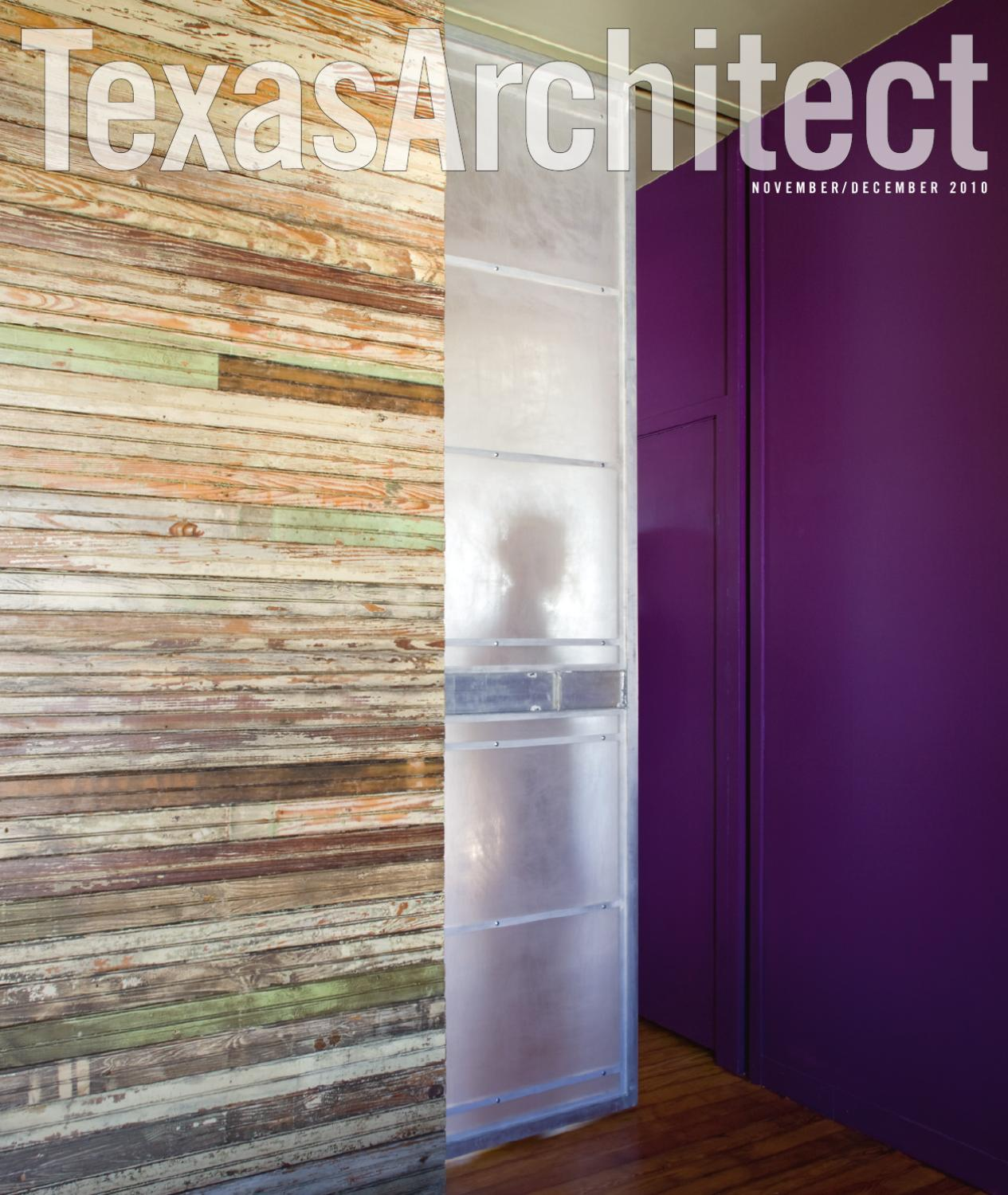 Dfa Proposes An Unsinkable Mixed Use Complex For The: Texas Architect Nov/Dec 2010: Mixed-Use By Texas Society