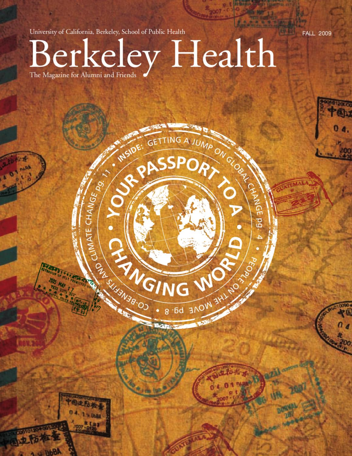 Fall 2009 - Your Passport to a Changing World - Berkeley