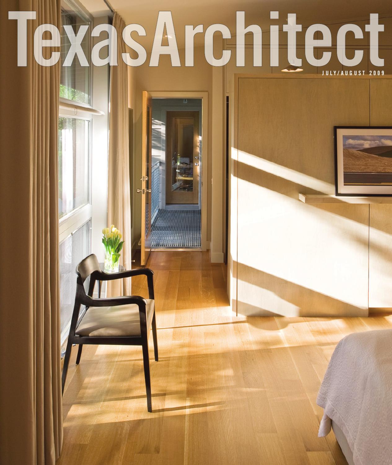Texas architect july aug 2009 residential design by texas society of architects issuu