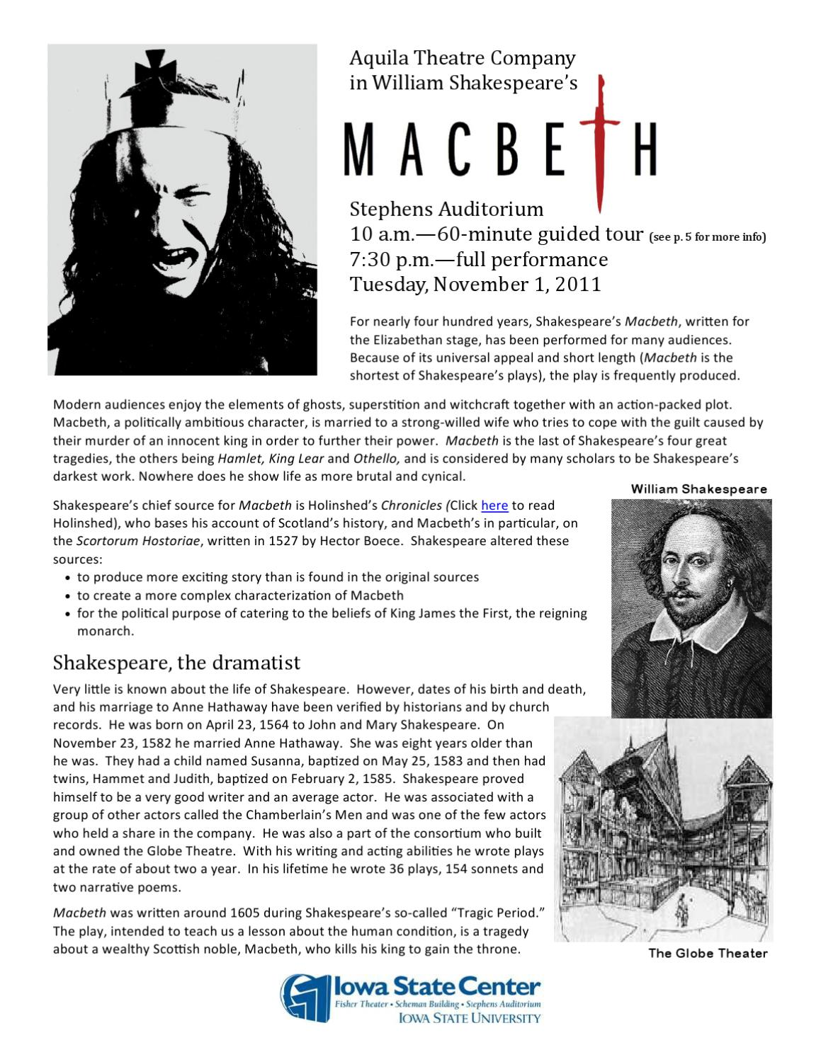 """universal order in macbeth Macbeth: studying the play macbeth see more in this action than malcolm has intended in giving the order macbeth claims that he has """"almost forgot the taste."""