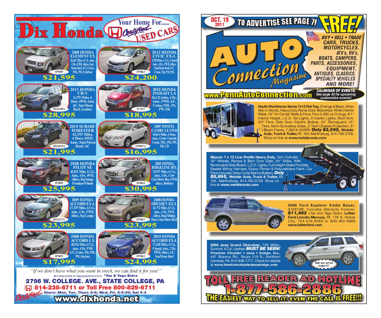 10 19 11 Auto Connection Magazine By Issuu Jet Shower Onda Chrome