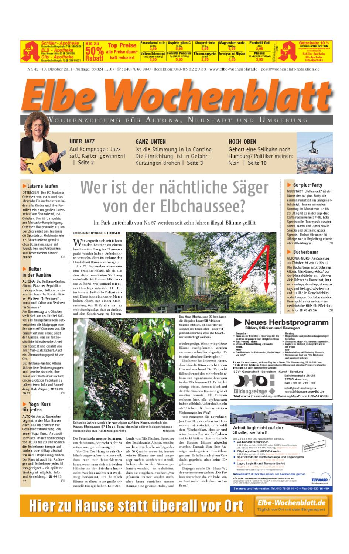 Altona Kw42 By Elbe Wochenblatt Verlagsgesellschaft Mbh Co Kg Issuu