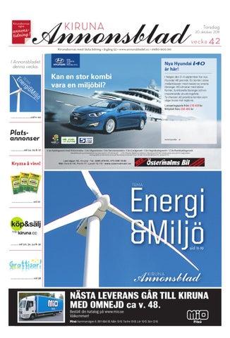 new concept 4e5e9 cae5c Kiruna Annonsblad 2011 v.42 by Svenska Civildatalogerna AB - issuu