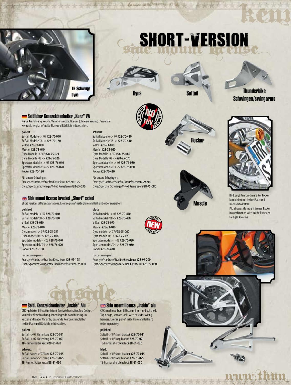 Thunderbike Custom Book Parts By Martin Mix Issuu Ek Wiring Harness