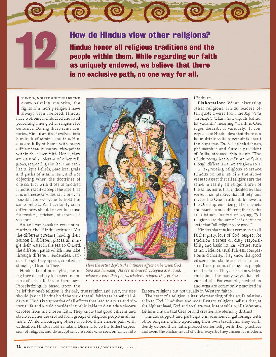 14 Questions People Ask About Hinduism by Shiva Thapasya - issuu