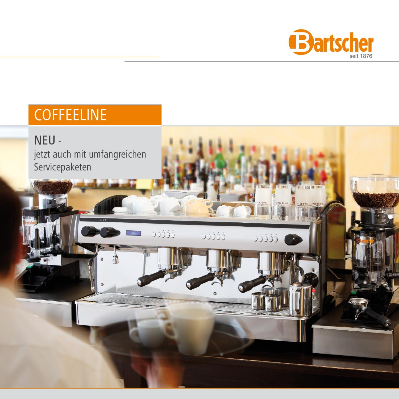 Bartscher Coffeeline Broschüre by Bartscher GmbH - issuu