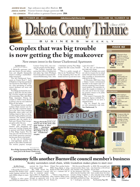 10/20/2011 - dakota county tribune business weekly by dakota