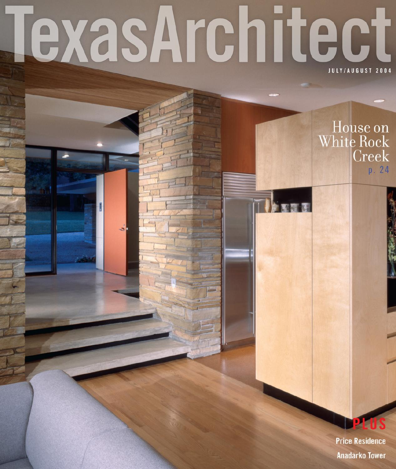 Texas Architect July/Aug 2004 By Texas Society Of Architects   Issuu