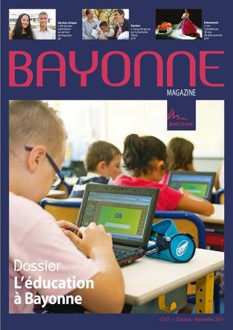 25fb9adba26 Bayonne magazine 167 Octobre - Novembre 2011 by Bayonne - issuu