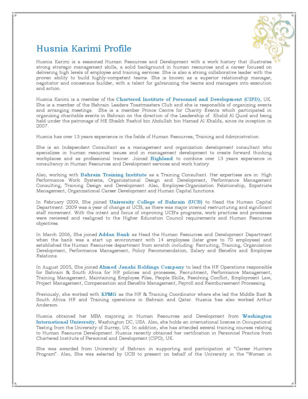 Husnia Karimi Profile By Husnia Karimi Issuu