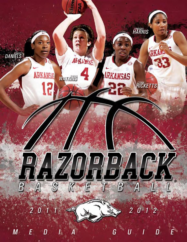 2011-12 Arkansas Women's Basketball Media Guide by