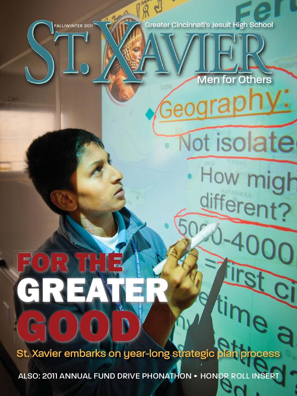 St. Xavier Magazine Fall 2011 by St. Xavier High School - issuu