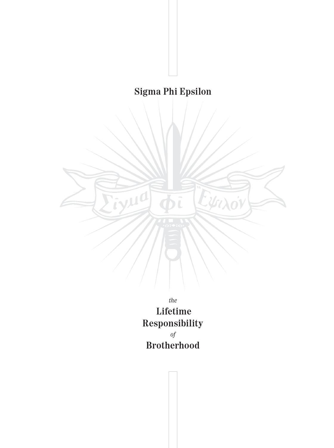 The lifetime responsibility of brotherhood by sigma phi epsilon the lifetime responsibility of brotherhood by sigma phi epsilon issuu buycottarizona