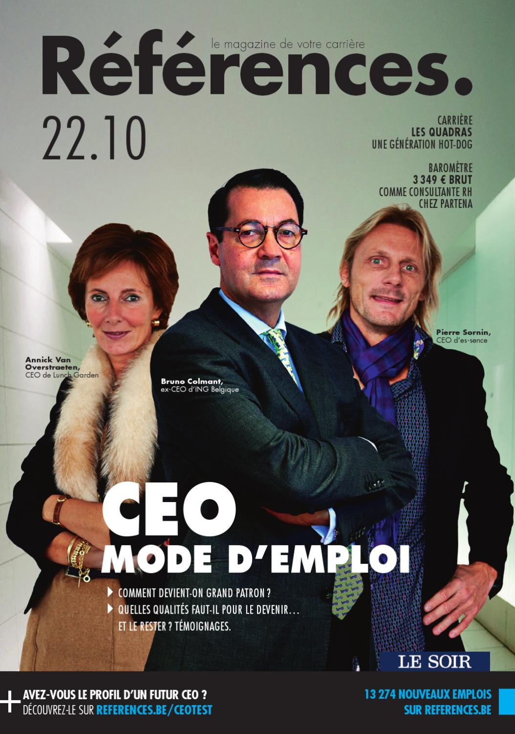 ceo mode d u0026 39 emploi by jobs  u0026 careers cv