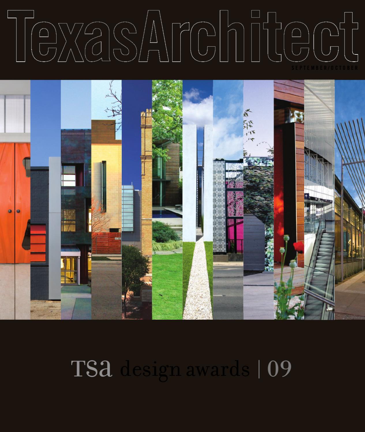 Texas Architect Sept Oct 2009 Design Awards By Society Of Banner Ez Screen Wiring Diagram Architects Issuu