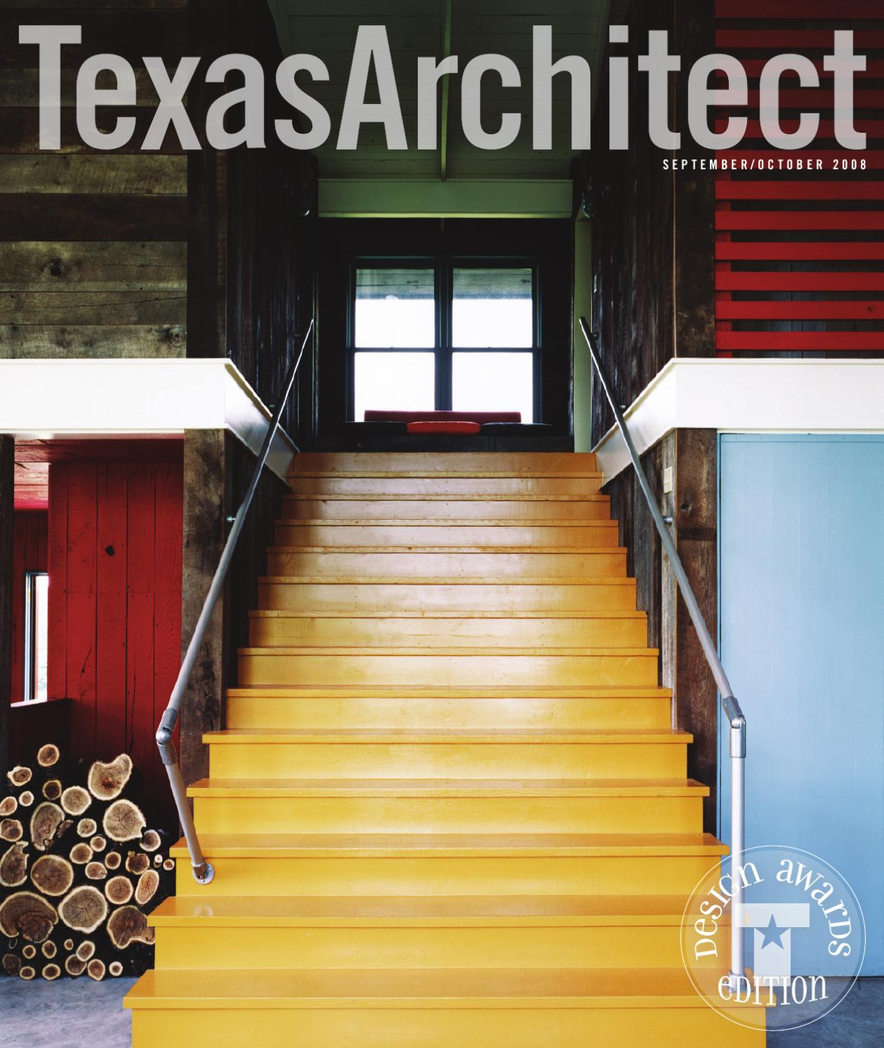 Texas Architect Sept Oct 2008 Design Awards By Society Of Ideas Gt French Drain Installation Diagram Architects Issuu