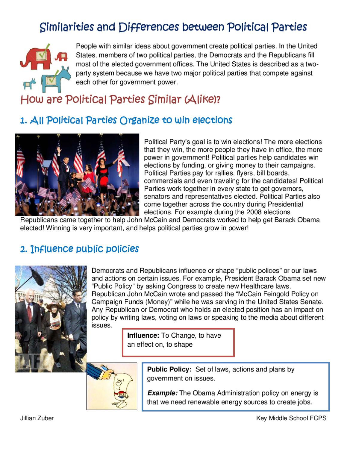democrats and republicans similarities What is the difference between democrats and republicans this nonpartisan comparison examines the differences between the policies and political positions of the democratic and republican parties on major issues such as taxes, the role of government, entitlements (social security, medicare), gun control, immigration.
