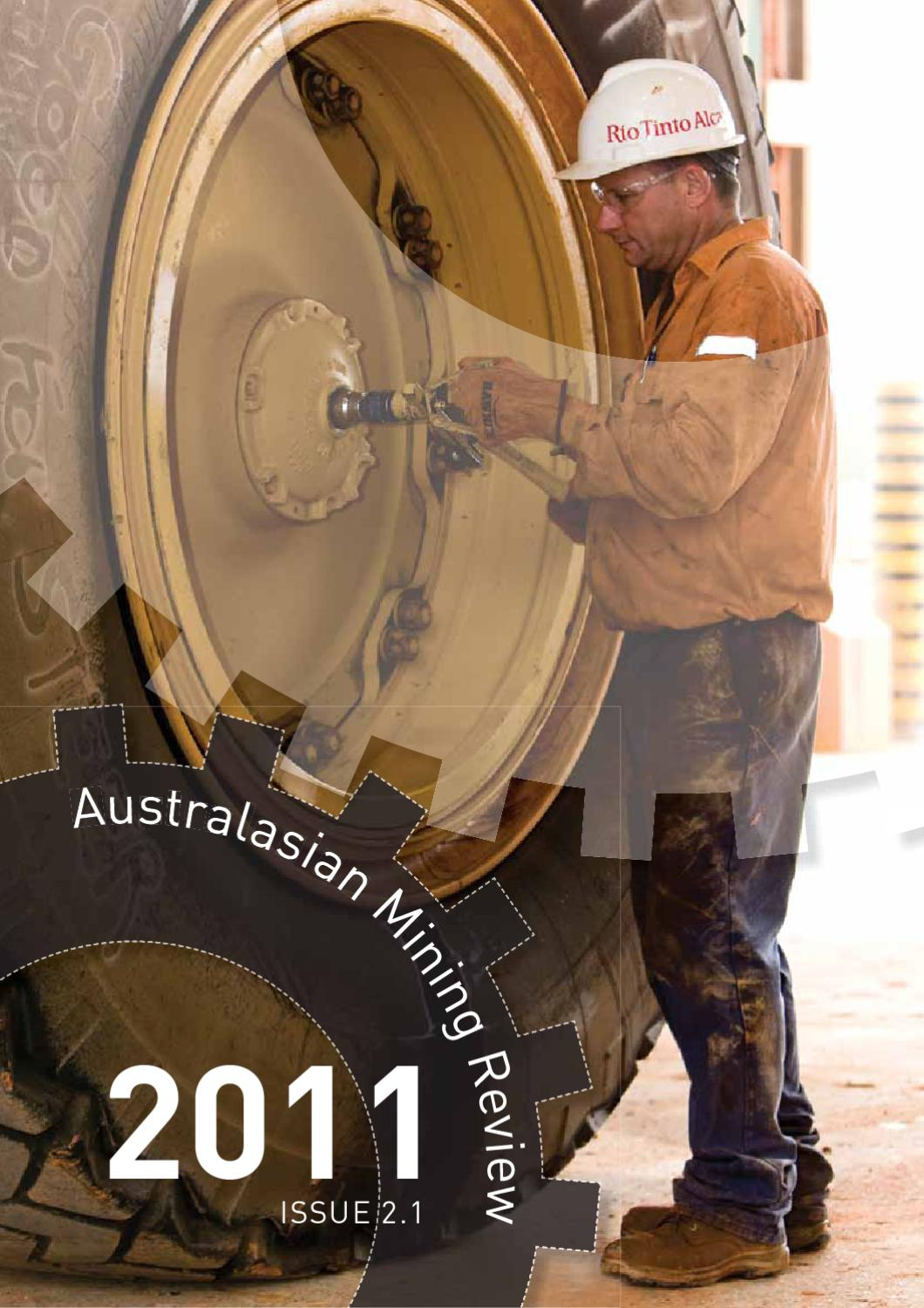 Australasian Mining Review Issue 1 2011 By Aprs Media Issuu Basic Electrical Characteristics Ininins English Blog