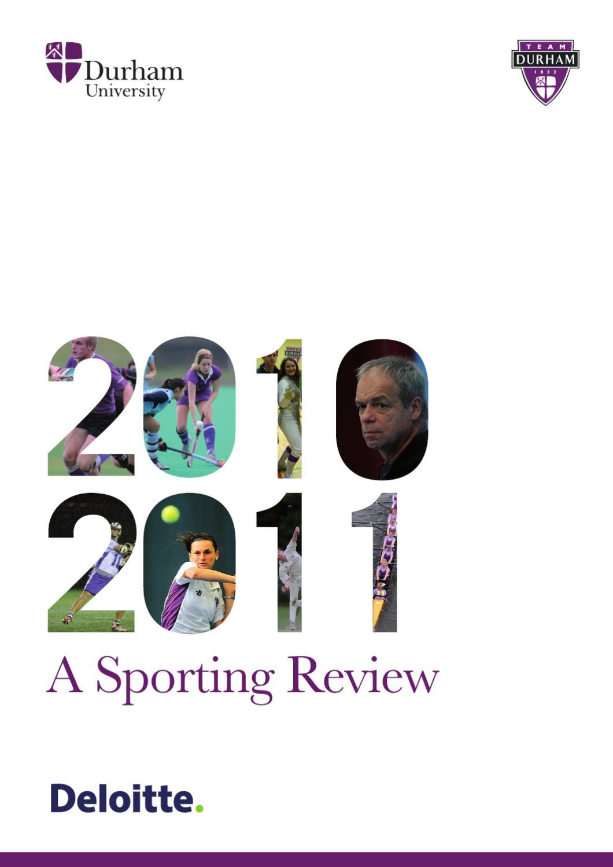 745cb7a2720 Durham University Sports Review by Durham University - issuu