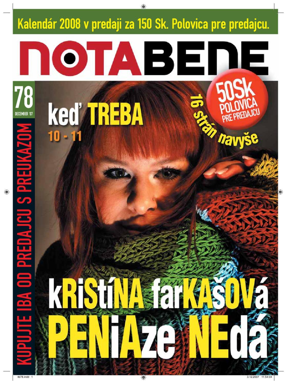 46e033b525c NOTA BENE 78 by Proti prúdu - issuu