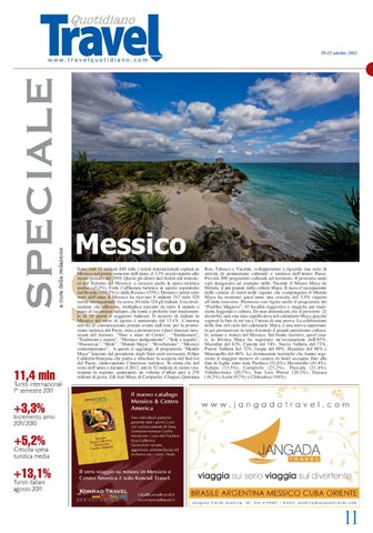 Speciale Messico 19 21 10 2011 By Travelquotidiano Com Issuu