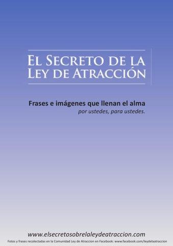 Frases E Imágenes Que Llenan El Alma By Ley De Atraccion Issuu
