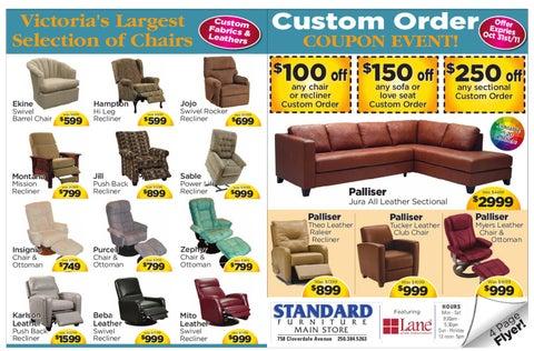 Fine Oct 21 2011 Standard Furniture By Goldstream Gazette Issuu Ibusinesslaw Wood Chair Design Ideas Ibusinesslaworg