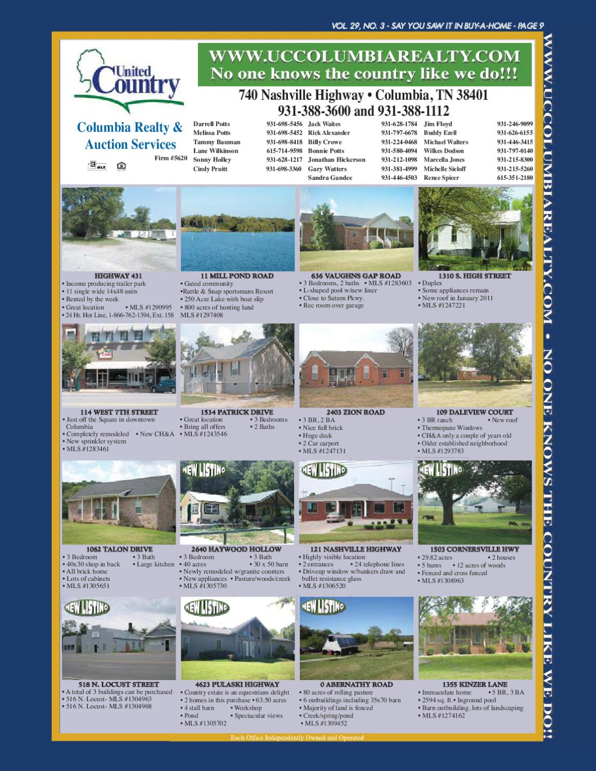 BUY-A-HOME of Southern Middle TN v29n3 by R&R Publishing - issuu