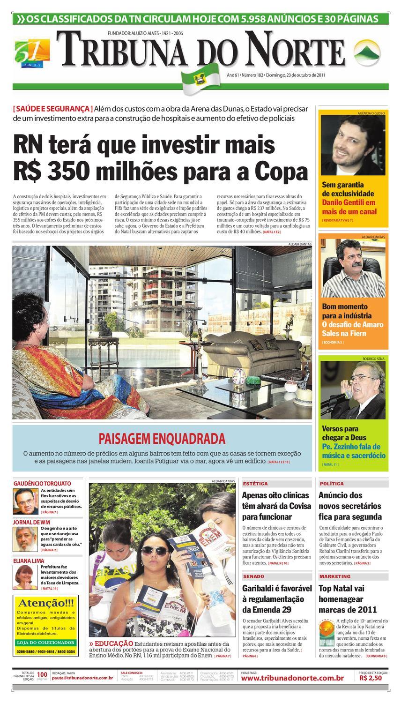 Tribuna do Norte - 23 10 2011 by Empresa Jornalística Tribuna do Norte Ltda  - issuu fc46d8dd36
