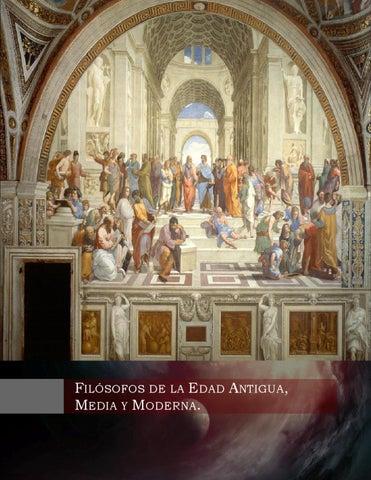 Filosofos Edad Antigua, Media y Moderna by Zsero Jrgl - Issuu