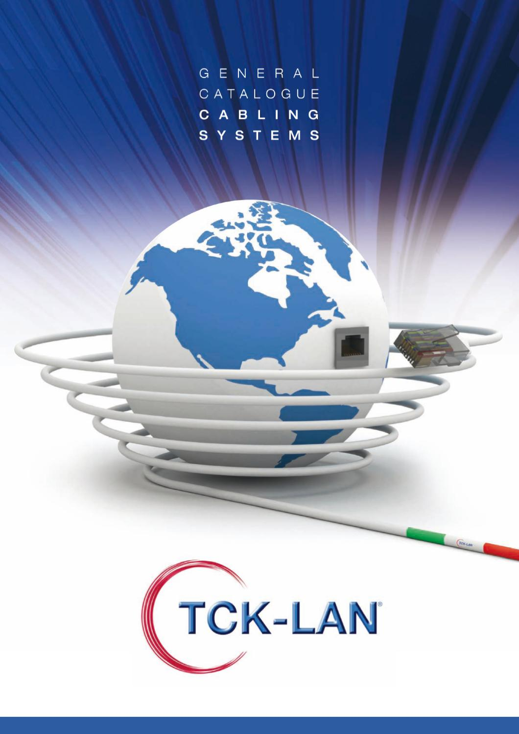 Tck Lan General Catalogue 2011 By Digital Media Issuu 73 Cat6 Patch Panel 110 Type 24 Port 568a B Compatible