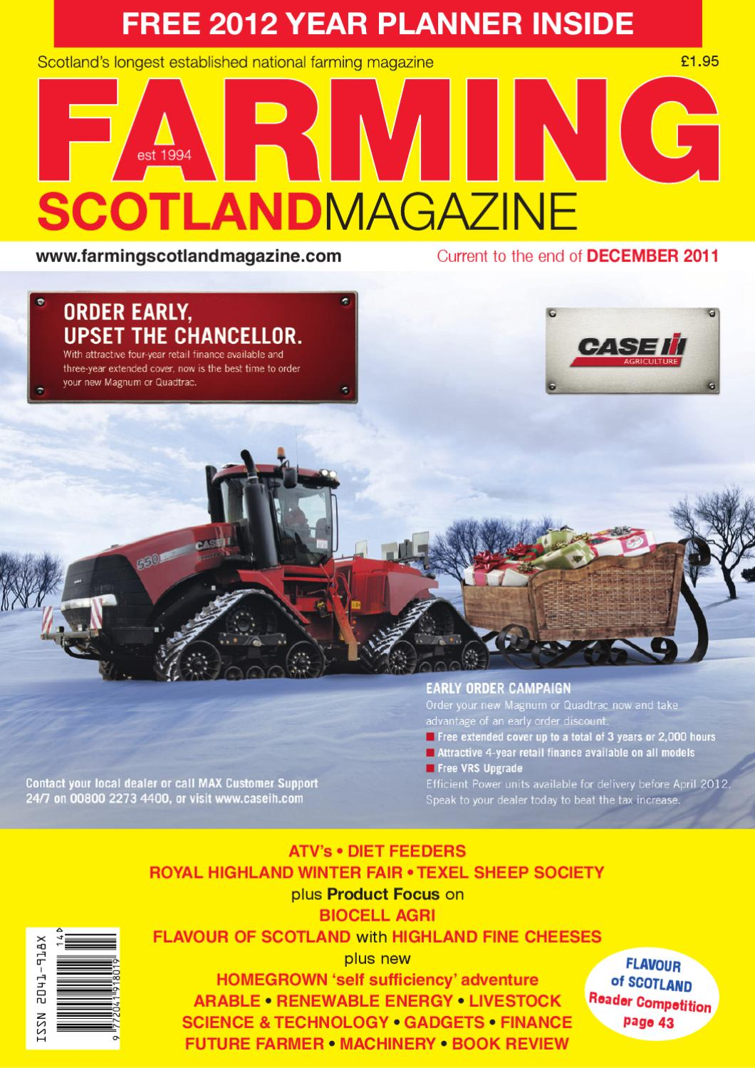 Farming Scotland Magazine Nov December 2011 By Athole Design March 29 2006 Circuitmaster 1 Comment Publishing Ltd Issuu