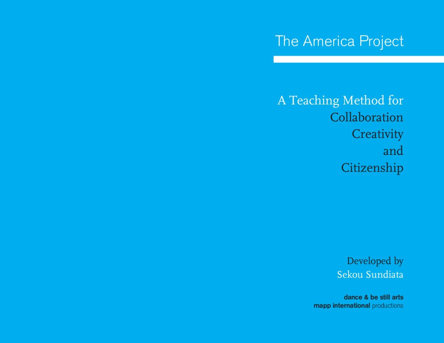 The America Project - A Teaching Method for Collaboration