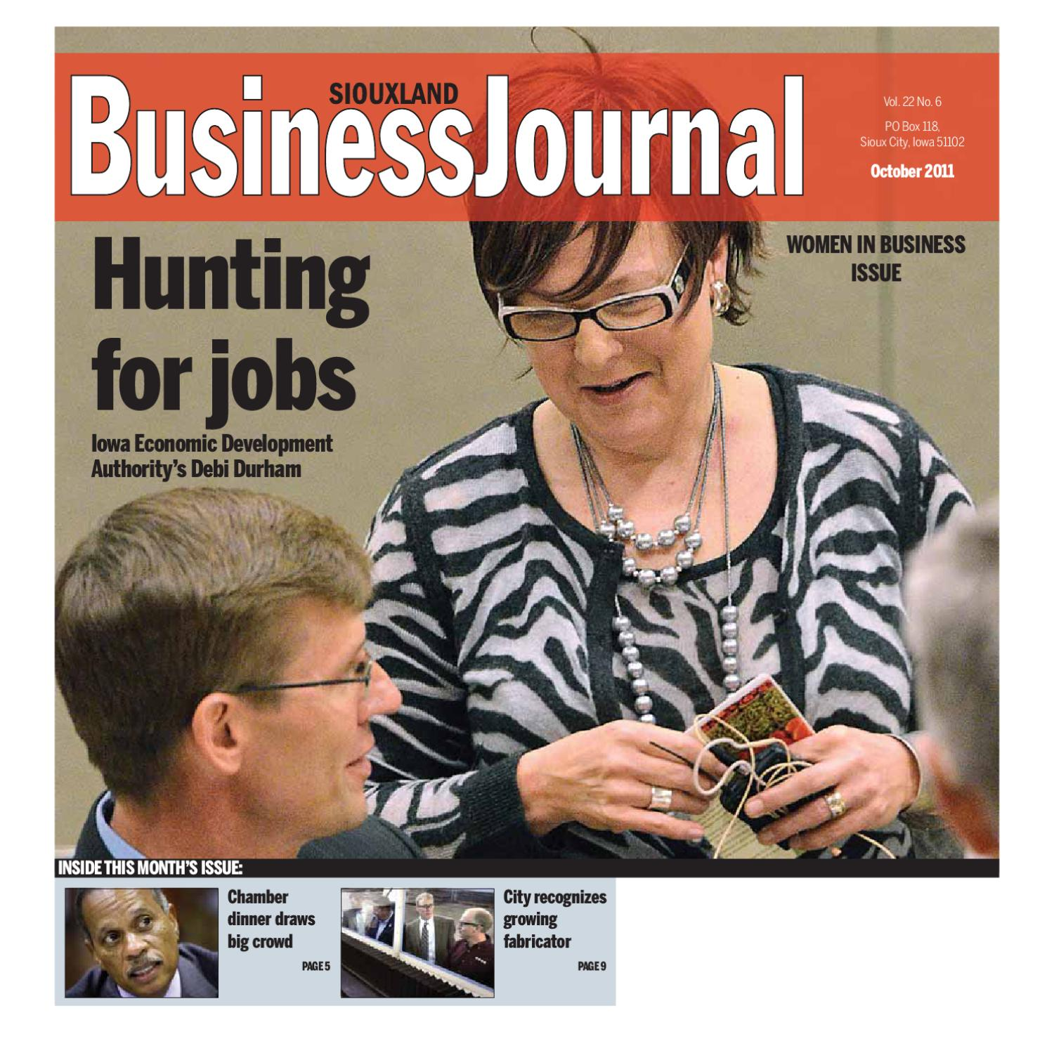 siouxland business journal october 2011 2 by sioux city journal