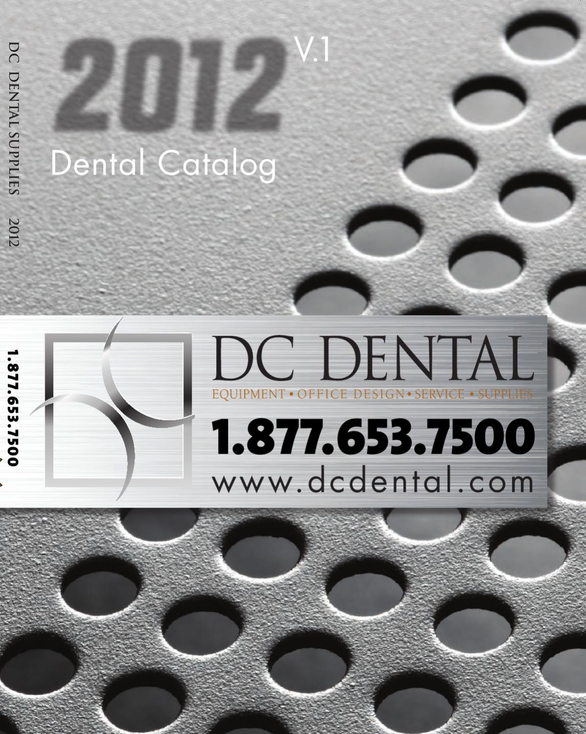 DC Dental Full Catalog 2012 v1