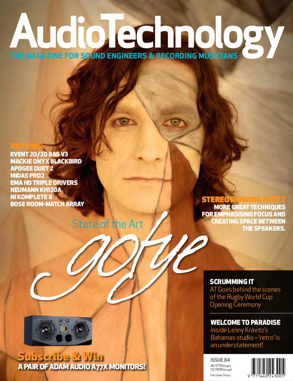 AudioTechnology Issue 84 by Alchemedia Publishing - issuu