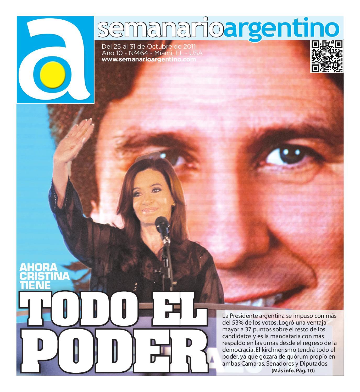 Semanario Argentino Nro. 464 (10/25/11) by Semanario Argentino - issuu