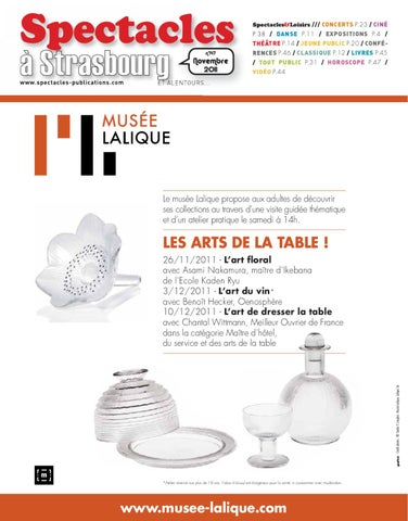 Strasbourg 11 2011 By SPECTACLES PUBLICATIONS