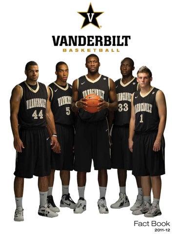 2011-12 Vanderbilt Men s Basketball Fact Book by Vanderbilt ... 3eb5acf53