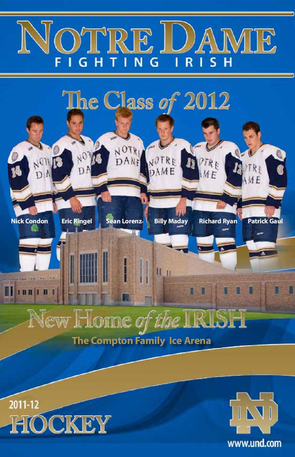 the latest dba0d 61f35 2011-12 Notre Dame Ice Hockey Media Guide by Chris Masters - issuu