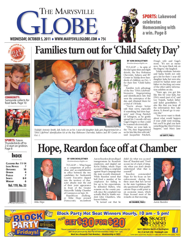 Marysville Globe October 05 2011 By Sound Publishing Issuu
