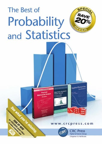 Probability and statistics by crc press issuu page 1 fandeluxe Gallery
