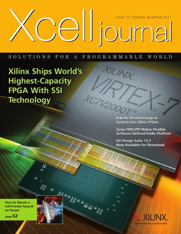 Xcell Journal issue 77 by Xilinx Xcell Publications - issuu