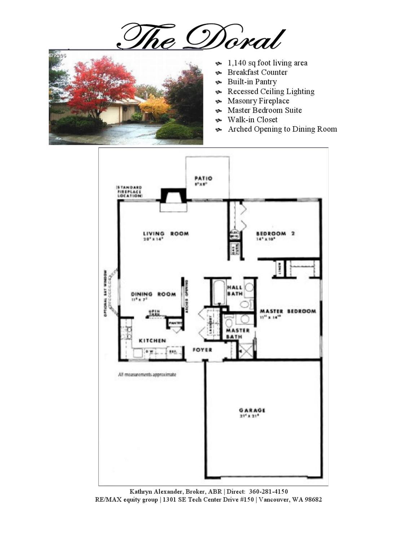 Fairway Village Floorplans By Kathryn Alexander Issuu